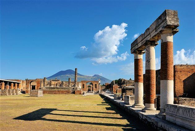 Pompeya y la costa Amalfitana