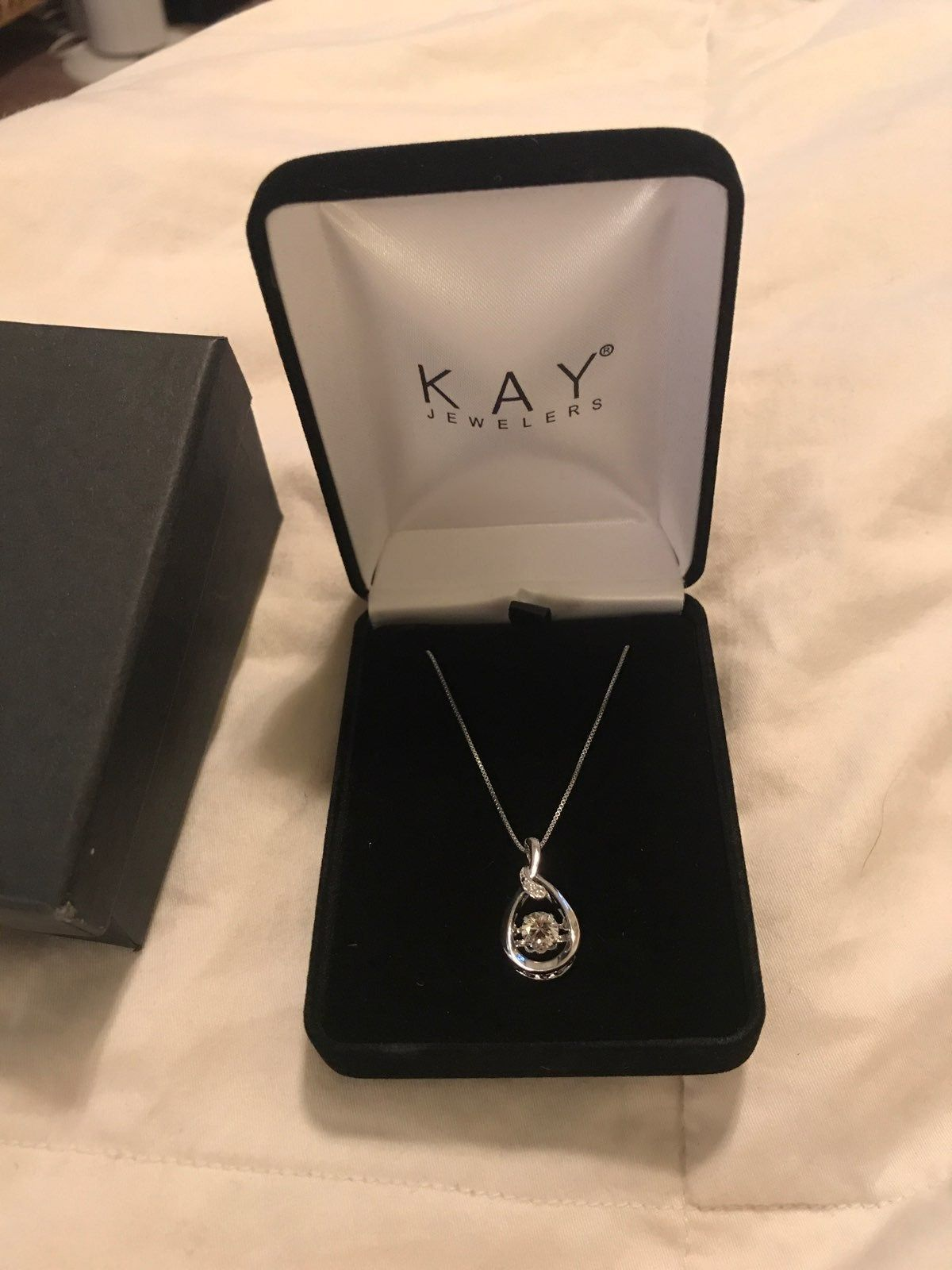 Kay Jeweler Necklace Still In Box With Tags And Never Worn Paid 80 For It Kay Jewelers Necklaces Kay Jewelers Necklace