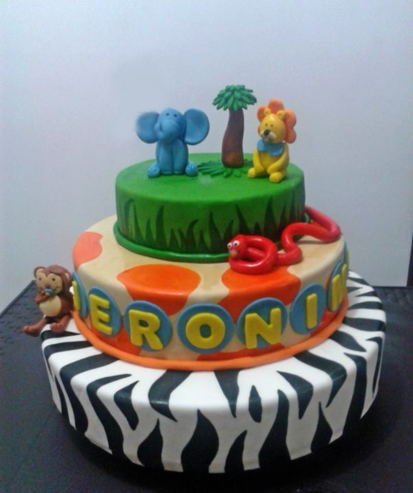 Torta selva / Jungle cake