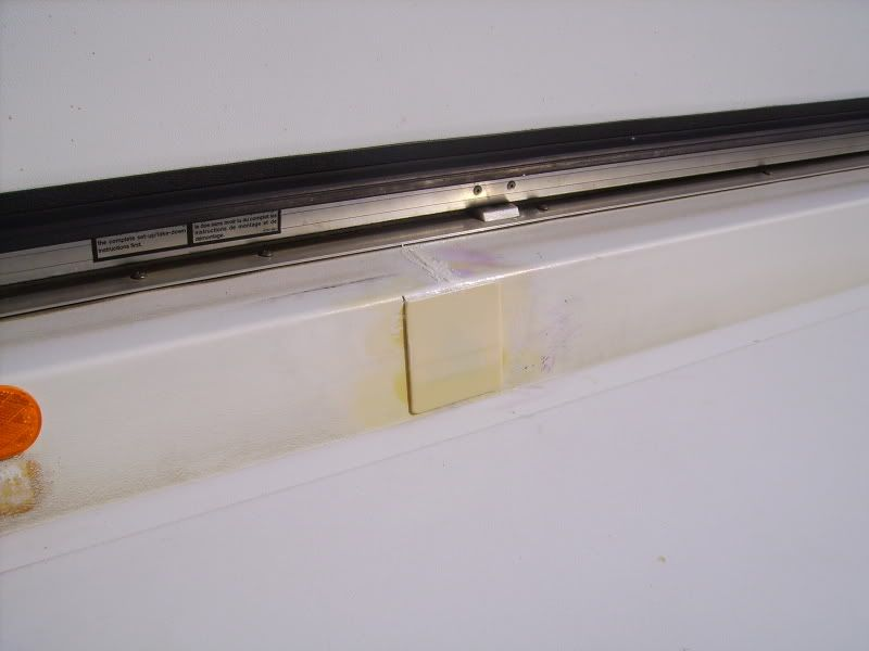Repairing Cracks Or Holes In Abs Plastic How I Did It Fibreglass Roof Roof Repair Trailer Remodel