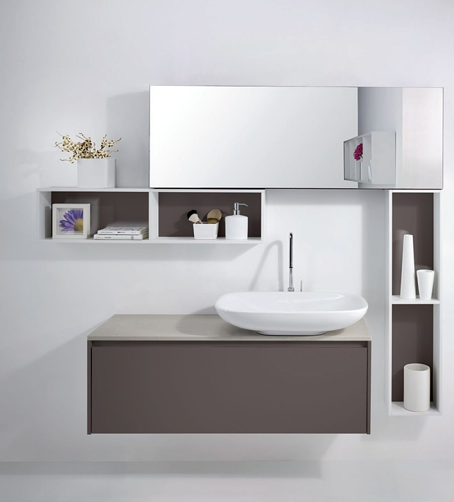 Modern bathroom cabinet - The Ideas Of Cabinets For Small Bathroom Sink