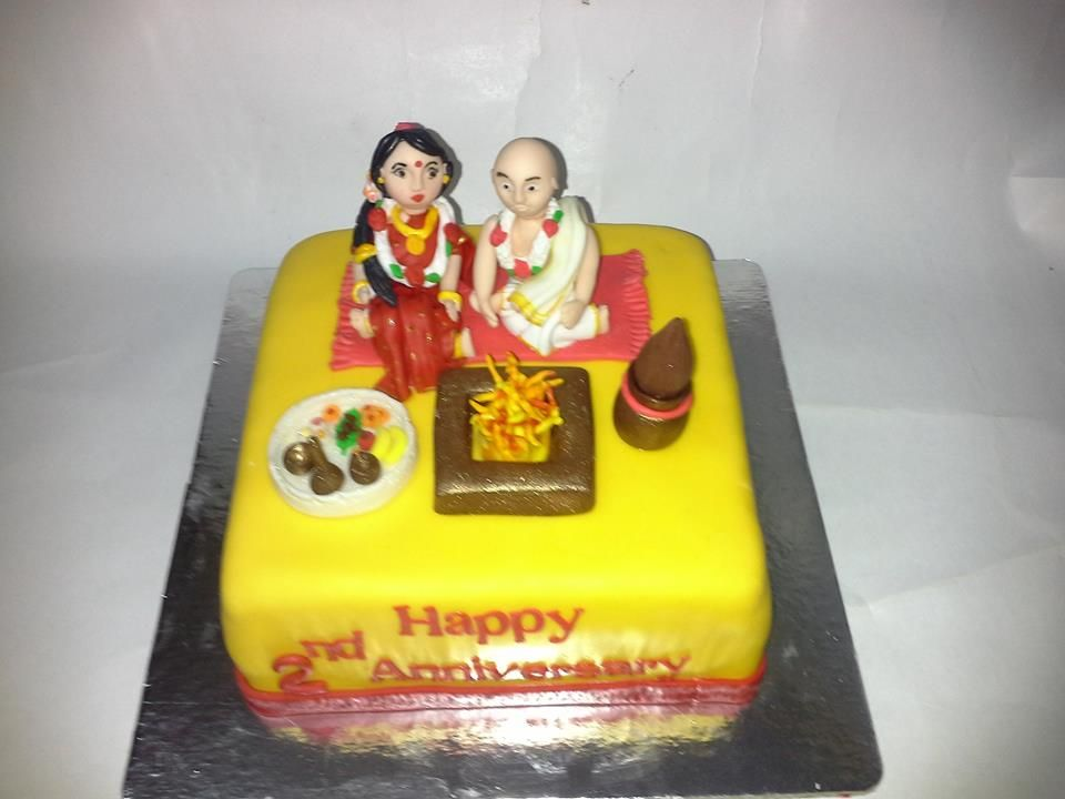 Customized Anniversary Cake Delivery Make Call Us 8464 99 6666
