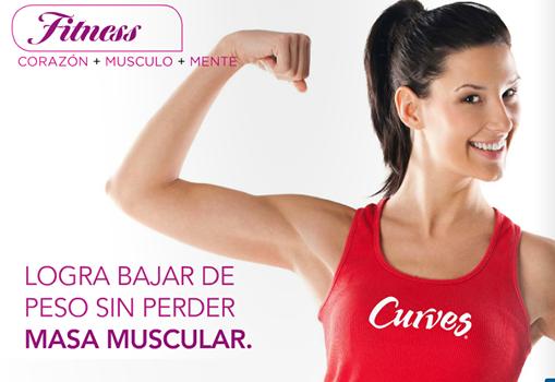 Baja de peso sin perder masa muscular. #RevistaCurves http://issuu.com/curveslatinoamerica/docs/revista_julio