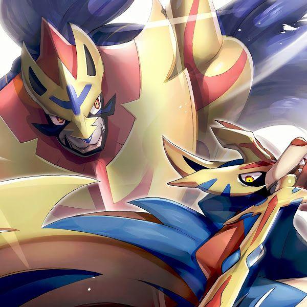 Zacian and Zamazenta, Pokemon Sword and Shield, 4K