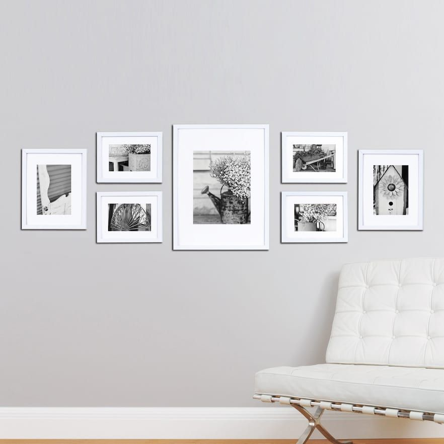 Gallery Perfect 7 Piece Frame Set Wall Collage Decor Frame Wall Collage Frames On Wall