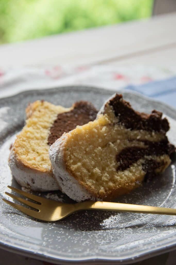 Saftiger Marmorkuchen Rezept Kuchen Torten Und Dessert