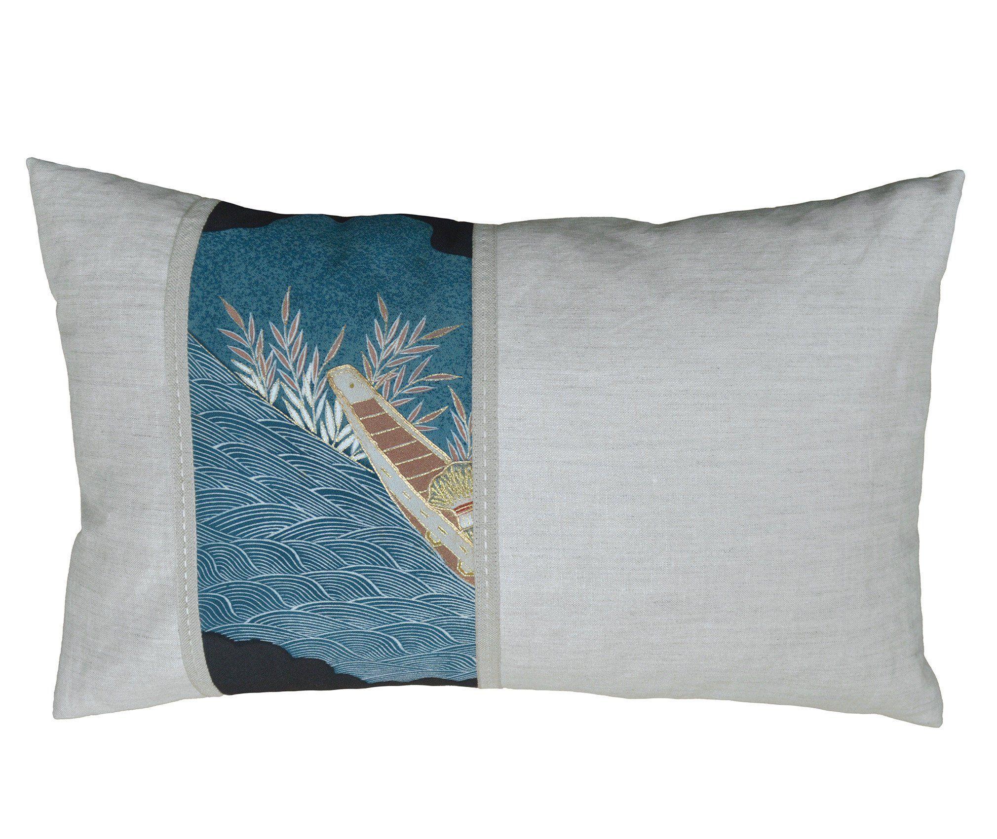 Luxurious Lumbar Pillow Cover Vintage Japanese Kimono Silk Etsy Pillows Lumbar Pillow Cover Vintage Japanese Kimono
