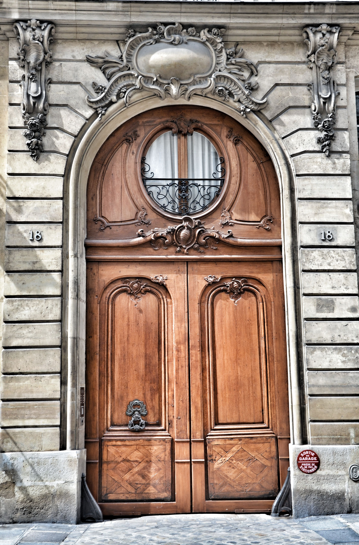 Paris Very Large Door European Doors Old Doors Door Texture