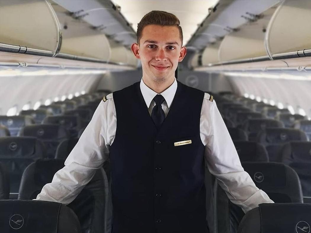 Steward Aviation Lufthansacrew Cabincrew Flightcrew Pesawat