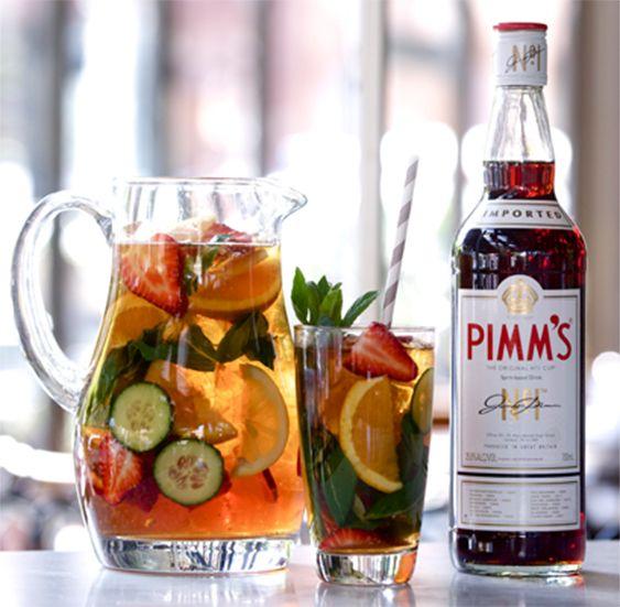 delicious summer cocktails frazier 39 s place for classic pimm 39 s no 1 cup pinterest rezepte. Black Bedroom Furniture Sets. Home Design Ideas