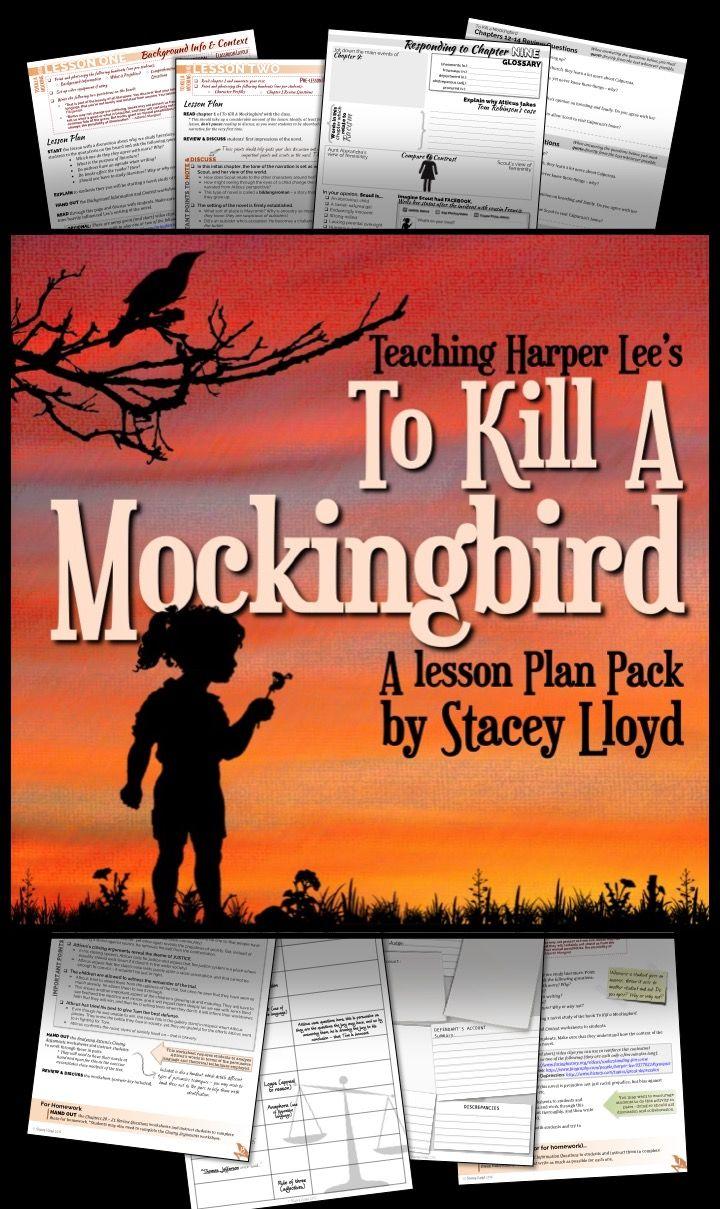 worksheet To Kill A Mockingbird Worksheet Answers to kill a mockingbird by harper lee teaching unit pack pack
