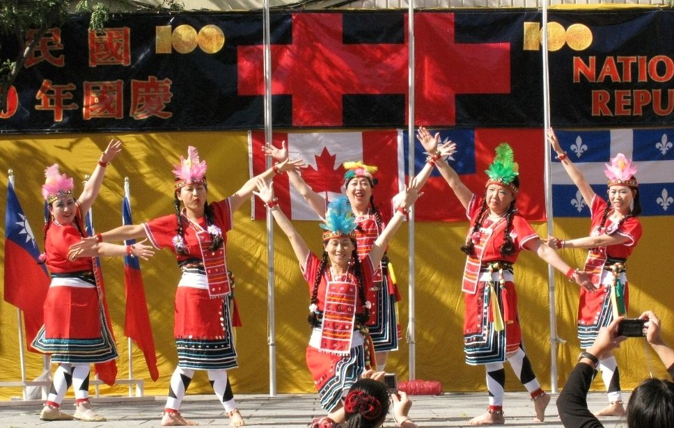 National Day Aboriginal Dance Promoting Taiwan Canadian Culture - dance resumeresume prime