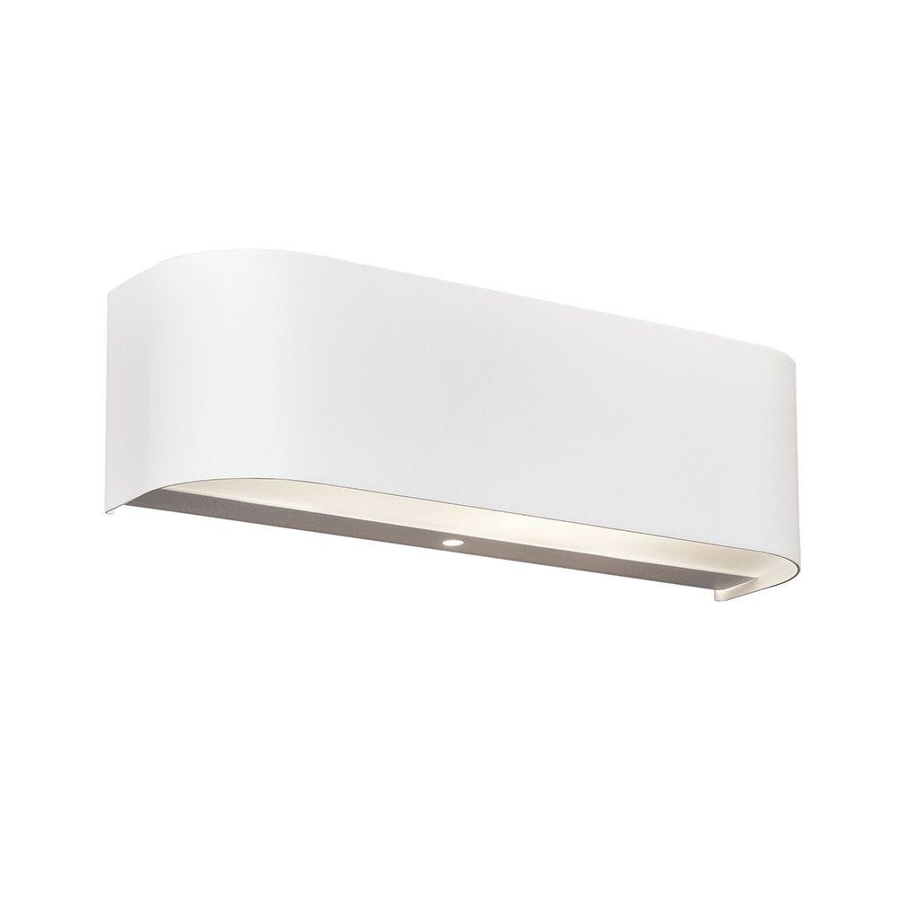 Led Wandleuchte In Weiss Und Langlicher Form Mit Osram Technologie Led Wandleuchte Und Lampen Und Leuchten