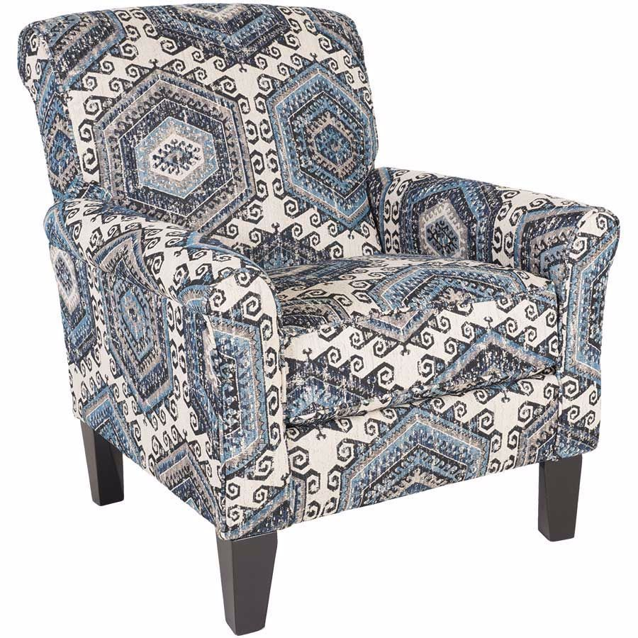 Miraculous Bellamy Indigo Accent Chair Sun City West In 2019 Accent Gmtry Best Dining Table And Chair Ideas Images Gmtryco