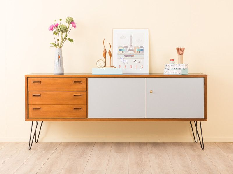 wundervolles sideboard 50er 60er kommode vintage von mid century friends auf mid. Black Bedroom Furniture Sets. Home Design Ideas