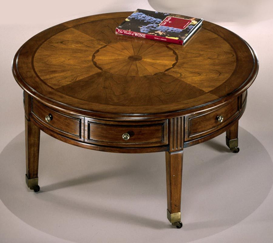 Round Vintage Coffee Table