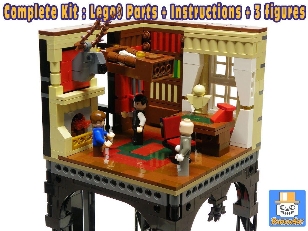 Lego Model Batman Custom 1966 Batmobile Library Set Instructions