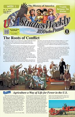 Crossword Usa Studies Weekly 5th Grade Week 4 Answer Key ...