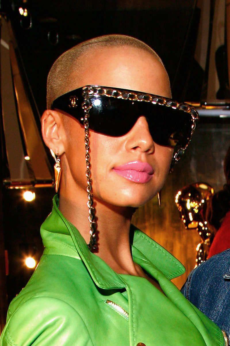 Heart Shape Shutter Sunglasses Shades  Orange or Black New