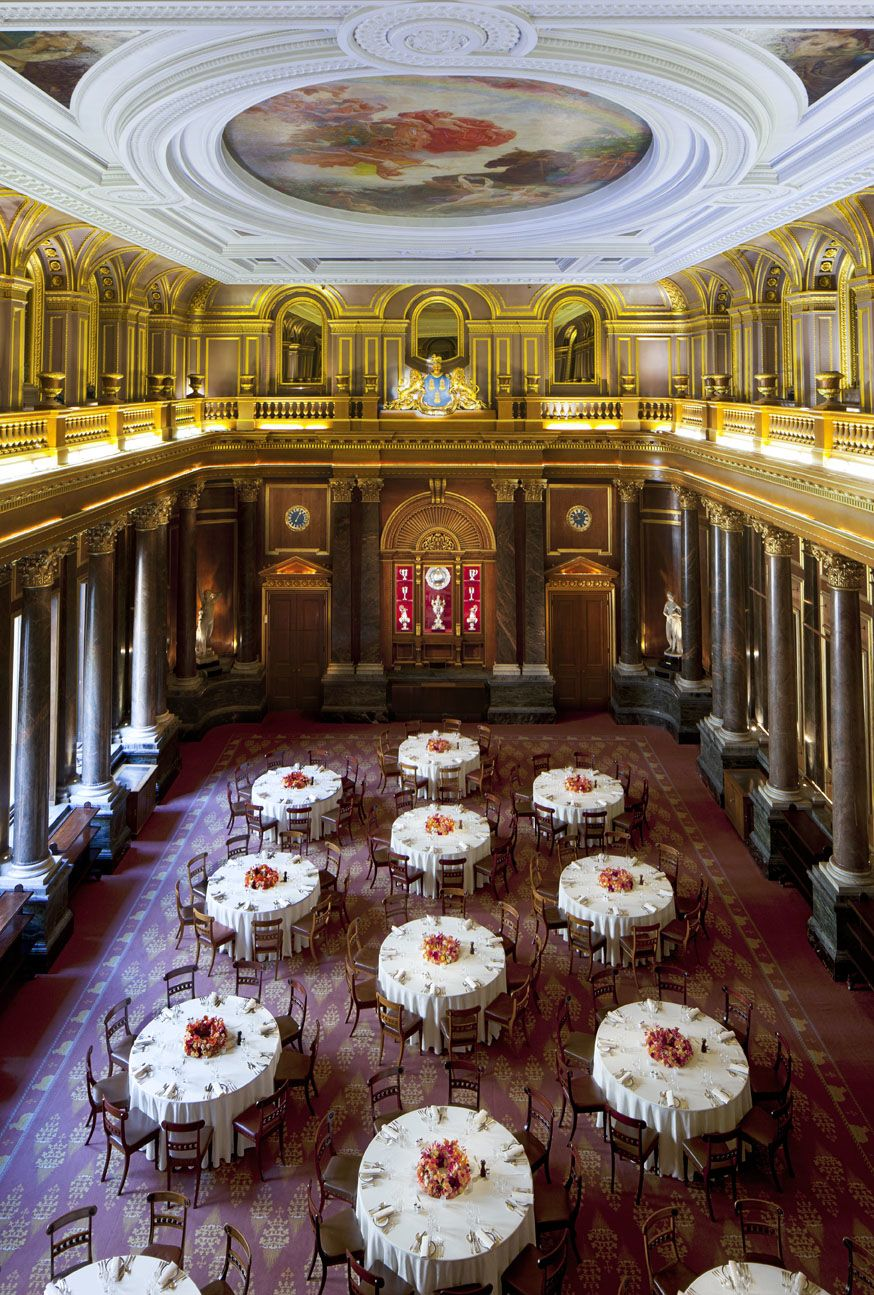 Drapers' Hall Central London London venues, Funky