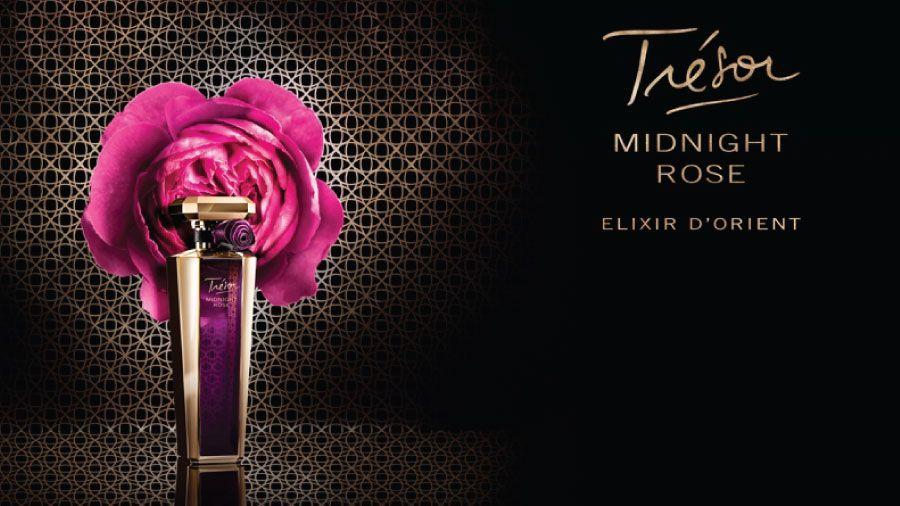 الغموض مع عطر لانكوم تريزور ميدنايت روز Goldenscent Magazine مجلة قولدن سنت Midnight Rose Fragrance New Fragrances