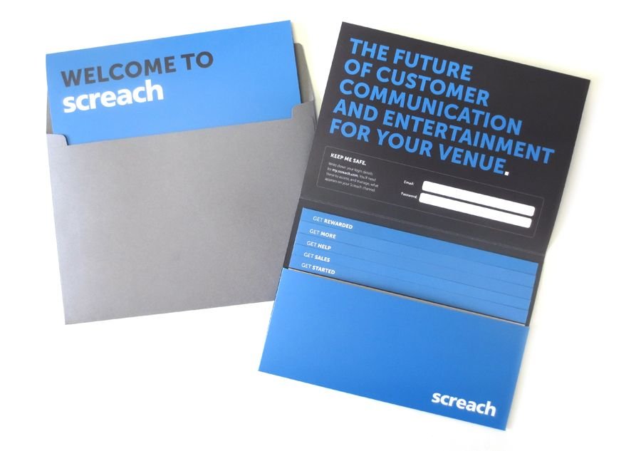 News: 17th August 2015 It's the Future! Welcome Pack. #graphicdesign #print
