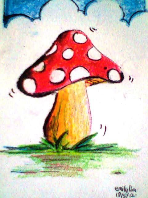 Pin By Heather Jewett On Too Cute Mushroom Art Art Whimsical Art