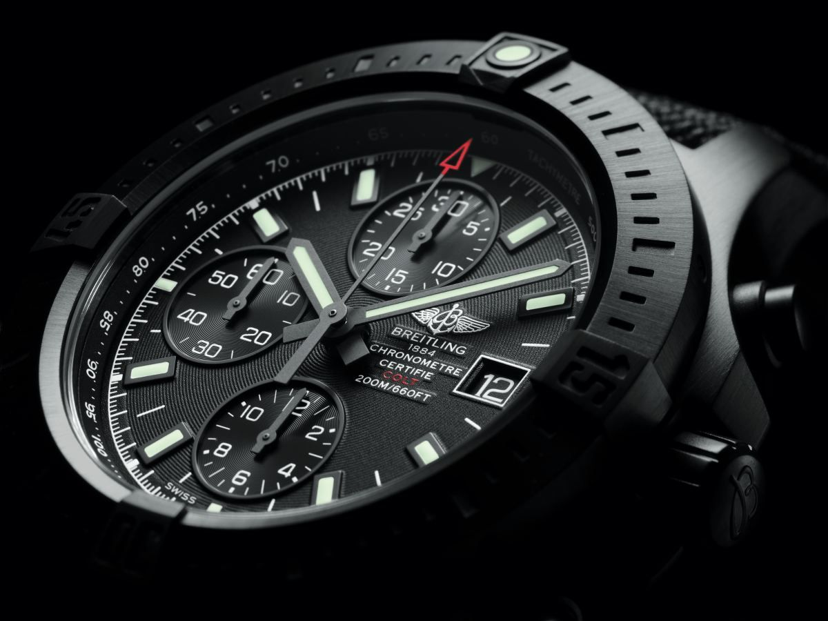Breitling Colt Chronograph Automatic Blacksteal
