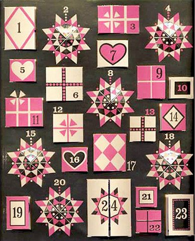 Vintage German Advent Calendar | Vintage Me Oh My