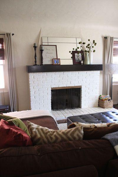 Making Room For Spring A Living Room Update Pepper Design Blog Home Fireplace Living Room Update Living Room Makeover