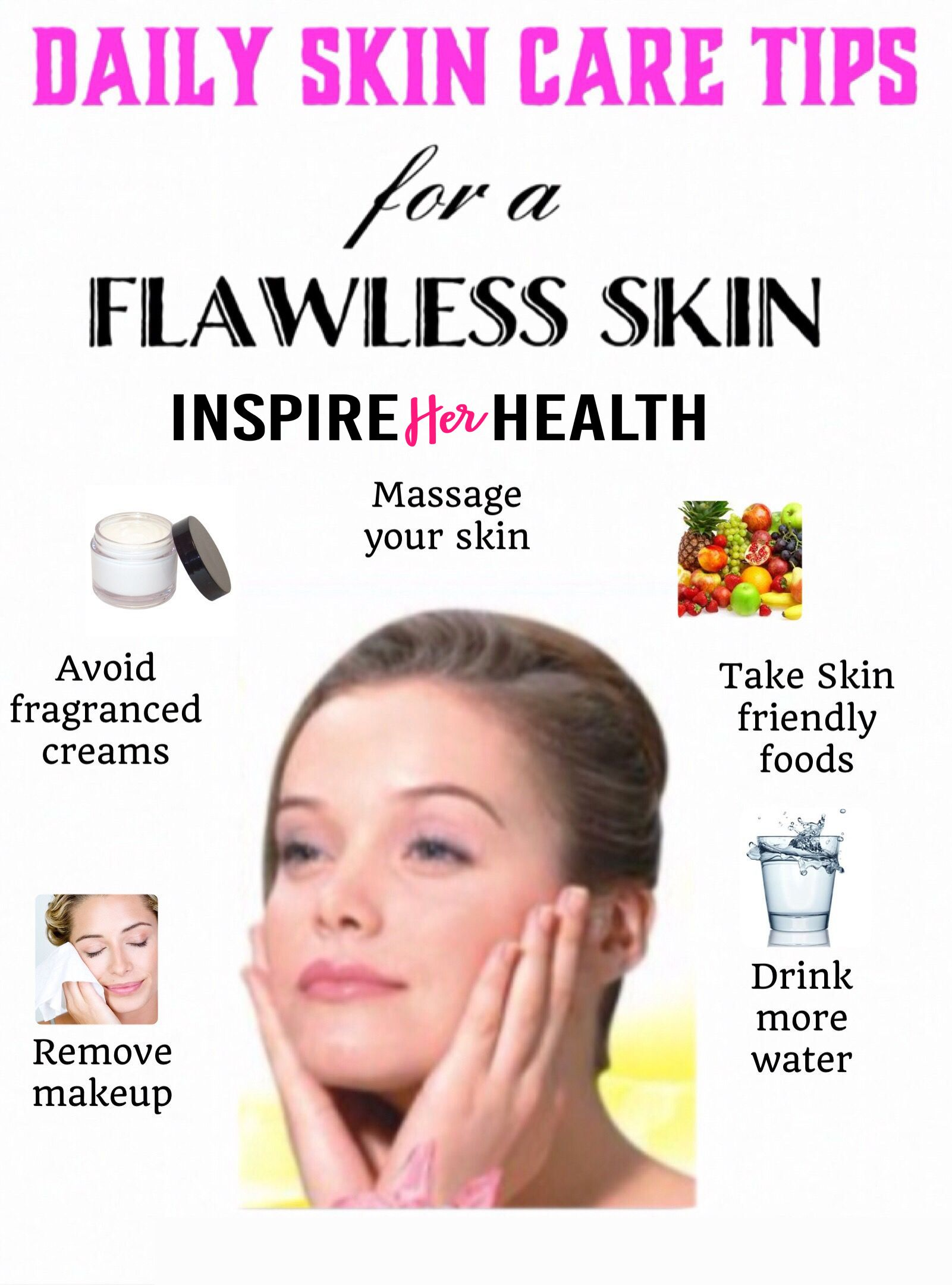 Daily skin care tips in 9  Daily skin care, Skin care tips