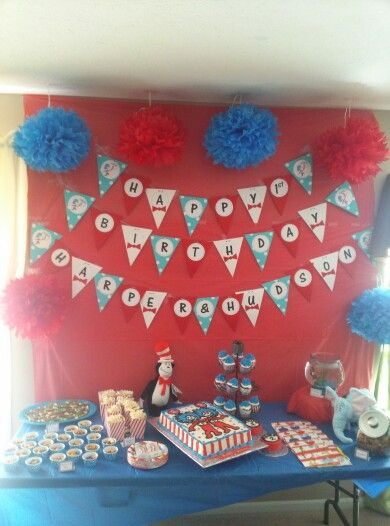 Rana Twin Boys First Birthday Party Birthday Ideas For