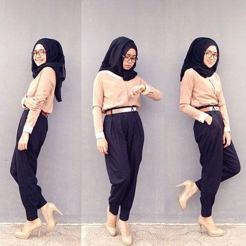 I love these pants with that hijab,Really matches. Plus with that peach color. I would defenitly want those kind of pants and would defetinly buy them. #WantThis❤ ❤ #WantToBuyIt❤ ❤ #MuslimahFashionToWear:D❤❤