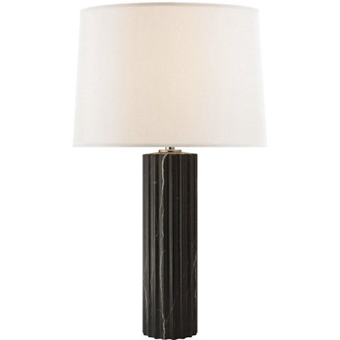 Darlton Table Lamp In Black Marble   Table Lamps   Lighting   Products    Ralph Lauren