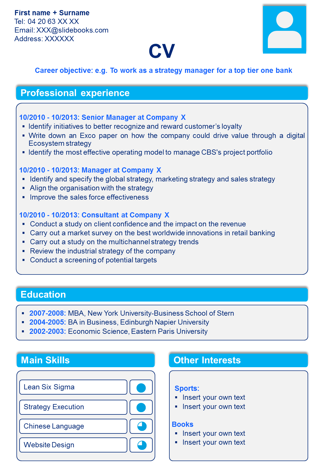 Resume / CV Templates