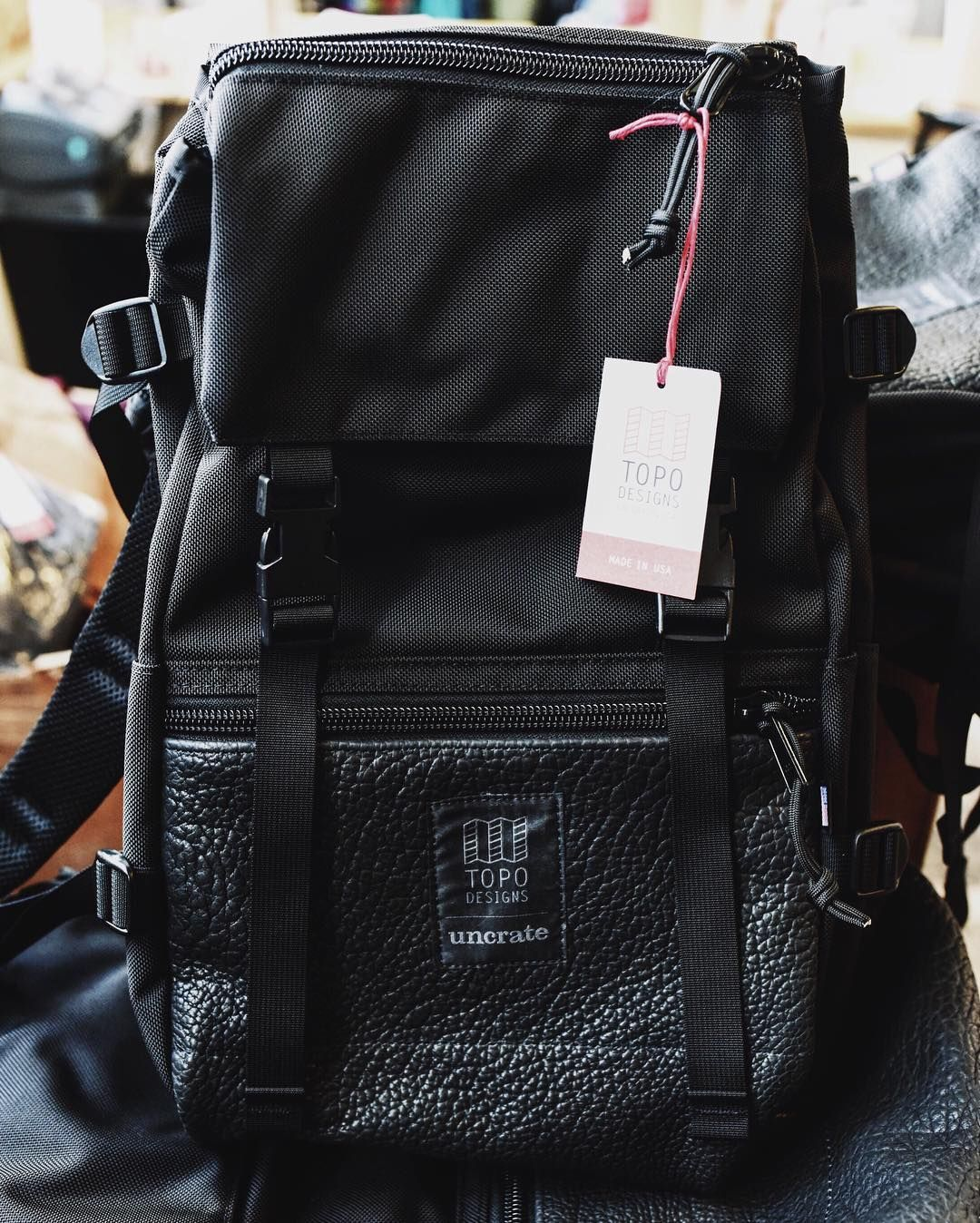 Topo Designs x Uncrate Rover Pack  Combining our signature