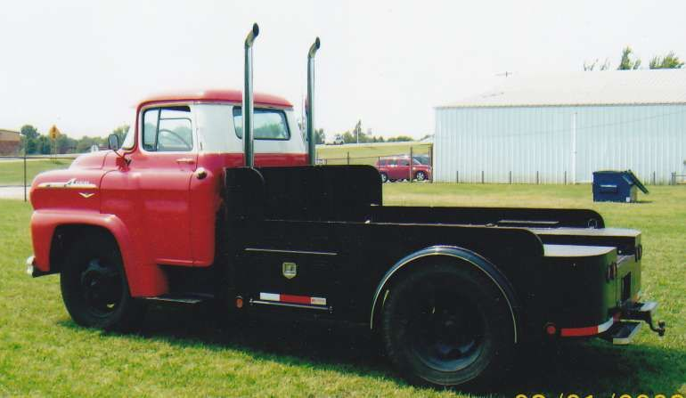 1958 Chevrolet 50 Series Lcf 2 Ton Custom Truck For In Asha Oklahoma