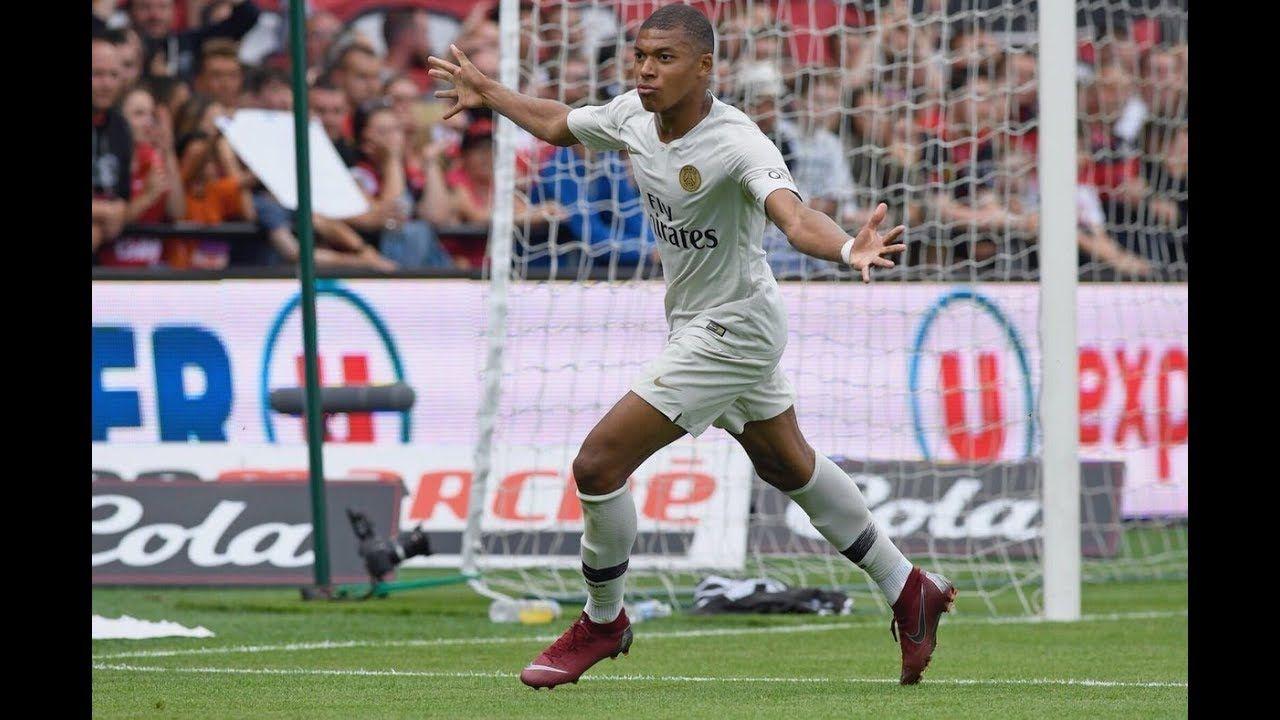 Kylian Mbappé bacK VS Guingamp 13 Match Highlights of PSG
