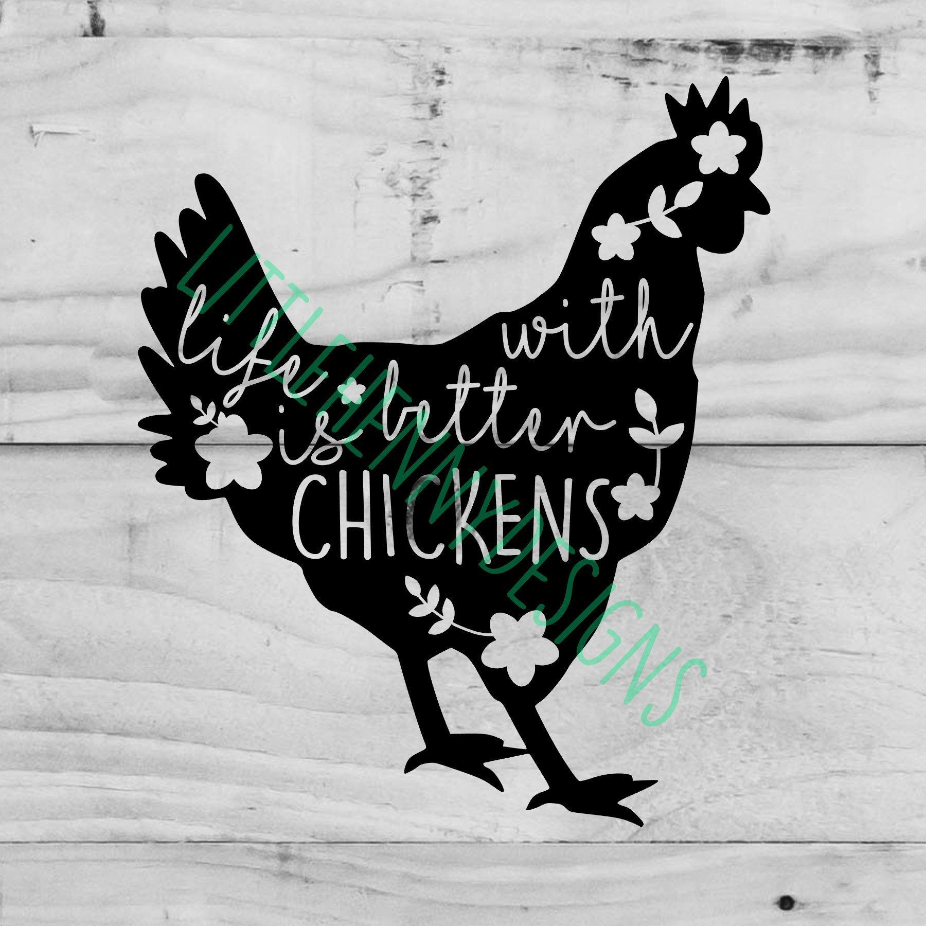 Chicken Svg Life Is Better With Chickens Chicken Lady Etsy In 2020 Cricut Projects Vinyl Life Is Good Chickens