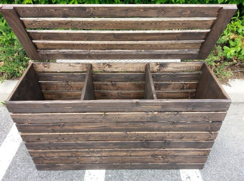 Laundry hamper basket farmhouse rustic crate three
