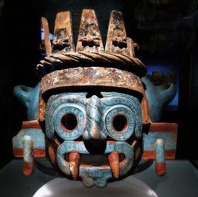 Tlaloc Aztec Deity #aztec