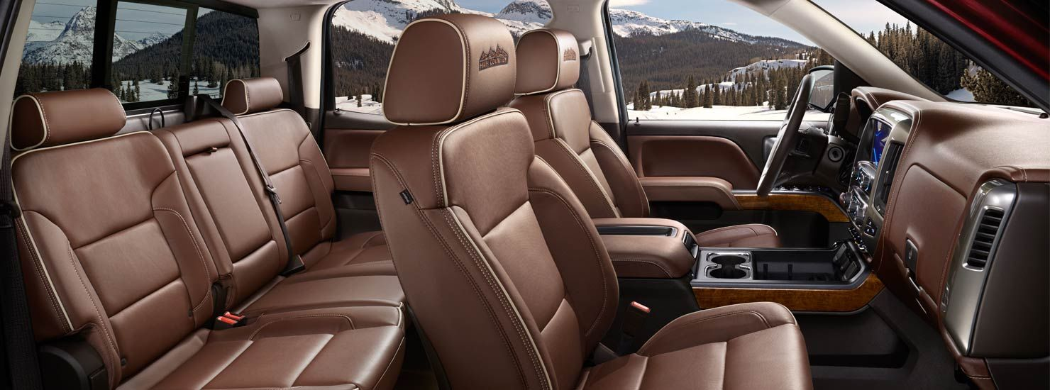 2014 silverado high country 1500 crew cab truck interior