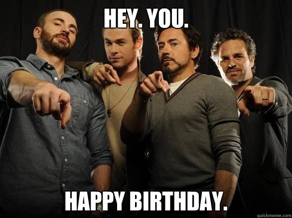 Knitting Happy Birthday Meme : Avengers happy birthday meme google search
