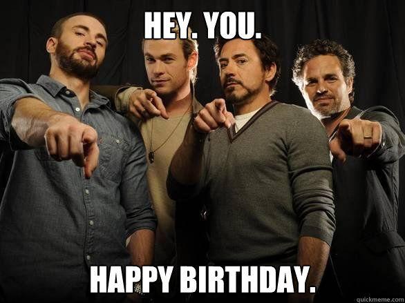 Avengers Happy Birthday Meme Google Search Happy Birthday Tori