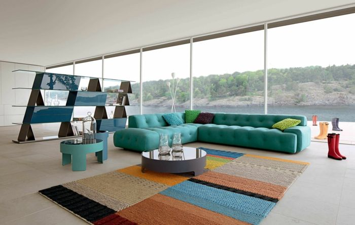 reduziertes wohnen minimalistische moderne wohnung wohnzimmer ... - Modern Minimalistisch Wohnen