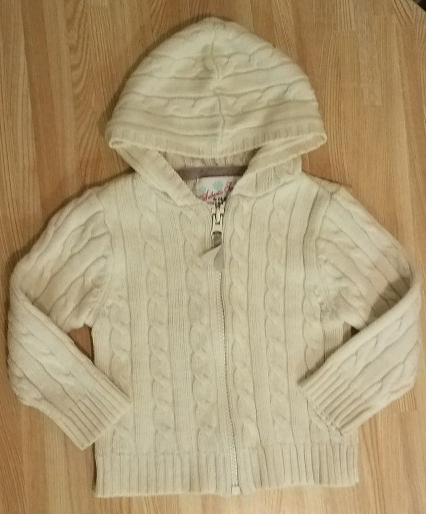 6c1780796 Old Navy Winter Edition 12 To 18 Month Girl Cream Ribbed Jacket GUC ...