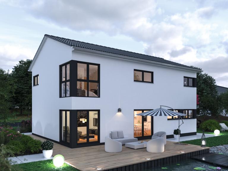 Massivhaus ☆ 2 geschossig Spektral Haus in 2020 Haus