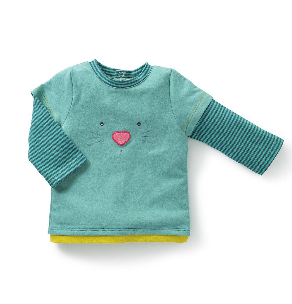 Moulin Roty - Sureau - long-sleeved t-shirt. Available at bonjourpetit.com