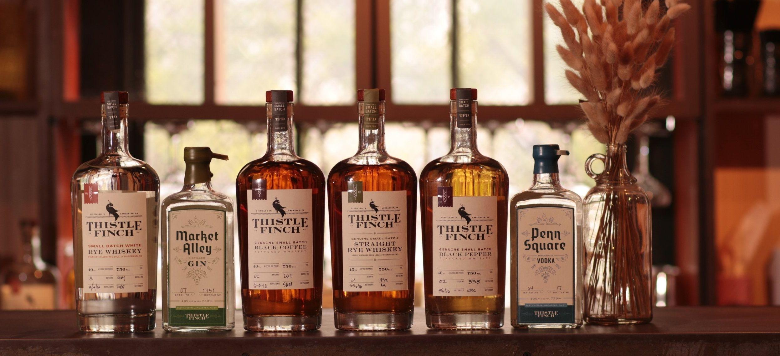 Spirits — Thistle Finch Distillery Lancaster PA Craft