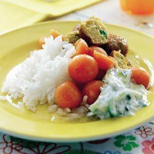 Recept - Rijst met ballen - Allerhande